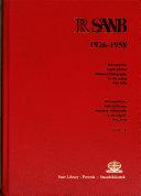 RSANB  1926 1958