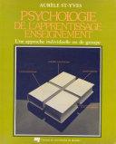 Pdf Psychologie de l'apprentissage-enseignement Telecharger
