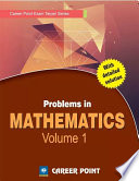 Problems In Maths For Jee Main Advanced Volume 1