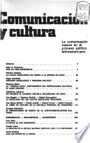 Comunicación y cultura  , Ausgaben 1-4
