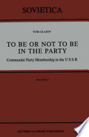 Read Online To Be or Not to Be in the Party For Free