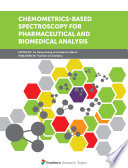 Chemometrics Based Spectroscopy For Pharmaceutical And Biomedical Analysis Book PDF