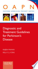Diagnostic and Treatment Guidelines in Parkinson s Disease