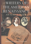 Writers of the American Renaissance ebook