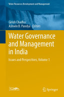 Water Governance and Management in India Pdf/ePub eBook