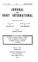 Journal du droit international