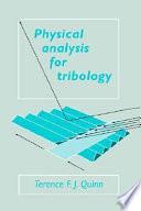 Physical Analysis For Tribology Book PDF