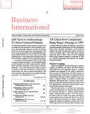 Business International Book