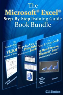 The Microsoft Excel Step-By-Step Training Guide Book Bundle