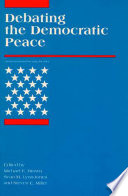 Debating the Democratic Peace Pdf/ePub eBook
