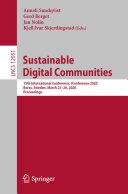 Sustainable Digital Communities [Pdf/ePub] eBook
