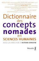 Pdf Dictionnaire des concepts nomades en sciences humaines Telecharger