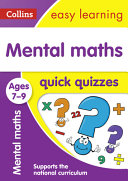 Mental Maths Quick Quizzes Ages 7-9