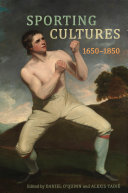 Pdf Sporting Cultures, 1650–1850 Telecharger