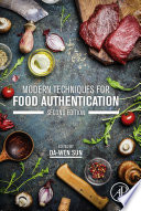 Modern Techniques for Food Authentication Book