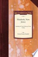 History Of Elizabeth New Jersey