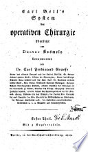 System der operativen Chirurgie