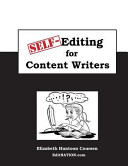 Self Editing for Content Writers