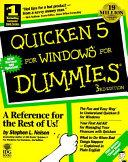 Quicken 5 For Windows For Dummies