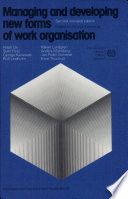 Managing and Developing New Forms of Work Organisation
