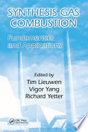 Synthesis Gas Combustion Book