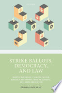 Strike Ballots Democracy And Law