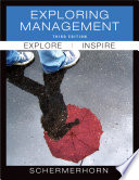 """Exploring Management"" by John R. Schermerhorn"