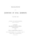 Transactions of the Institution of Naval Architects