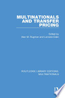 Multinationals And Transfer Pricing