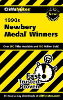 CliffsNotes The 1990s Newbery Medal Winners