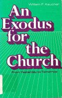 An Exodus for the Church Book PDF