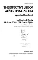 The Effective Use of Advertising Media Book