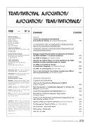 International Transnational Associations