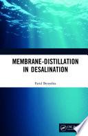 Membrane-Distillation in Desalination
