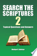 SEARCH THE SCRIPTURES 2 Book