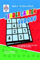 Kindergarten Sudoku: 4x4 Sudoku Puzzles for Kids