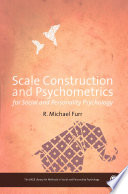 Scale Construction and Psychometrics for Social and Personality Psychology Book