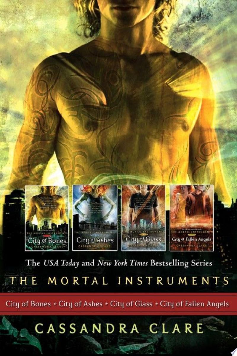 Cassandra Clare: The Mortal Instrument Series (4 books) banner backdrop