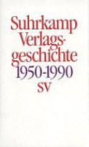 Suhrkamp Verlagsgeschichte 1950-1990