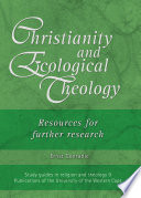 Christianity and Ecological Theology Book