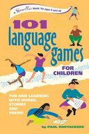 101 Language Games for Children