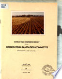 Consulting Engineers Report to the Oregon Field Sanitation Committee
