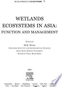 Wetlands Ecosystems in Asia  Function and Management Book