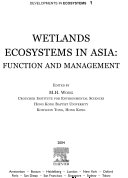 Wetlands Ecosystems in Asia  Function and Management