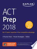 ACT Prep 2018 Book