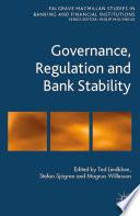 Governance  Regulation and Bank Stability
