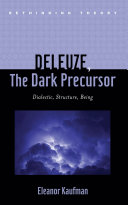 Deleuze  The Dark Precursor