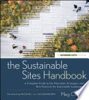 The Sustainable Sites Handbook Book