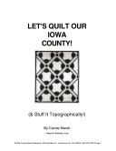 Let's Quilt Our Iowa County