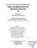 The Neuroscience of Mental Health II Book